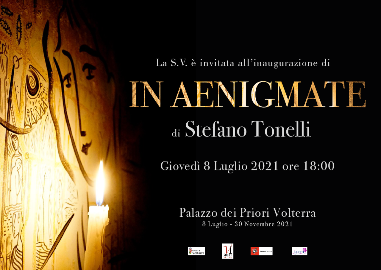 IN AENIGMATE di Stefano Tonelli a Volterra