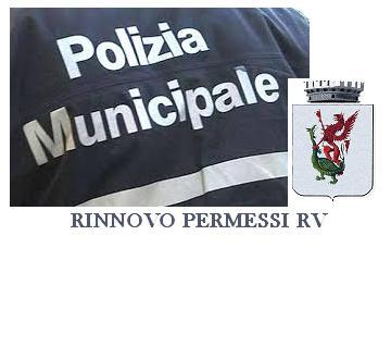 RILASCIO DEI PERMESSI RV