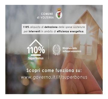 Superbonus 110 - Detrazione fiscale del 110%