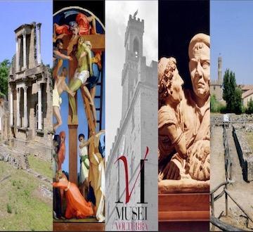 Nei Musei di Volterra ingresso con biglietto ridotto per gli under 18, per gli studenti delle università della Toscana, per tutti i residenti toscani.