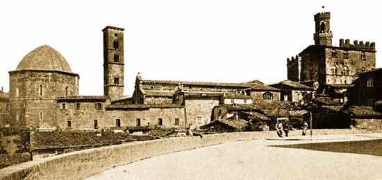 Foto storica panoramica del centro