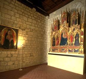 Foto della sala di Taddeo di Bartolo