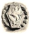 Bassorilievo in pietra dello stemma comunale di Volterra