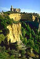Foto panoramica: le balze