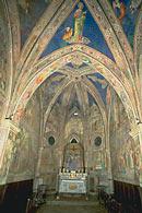 Foto della cappella della croce di Giorno all'interno della chiesa di San Francesco