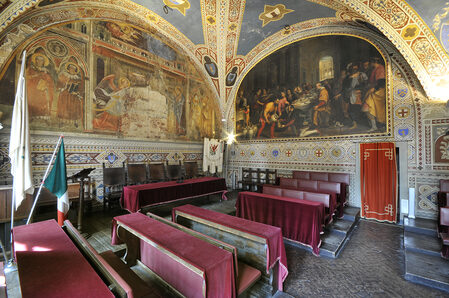 Foto della sala del Consiglio